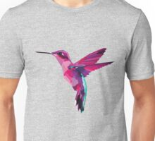 Pink Hummingbird (no background) Unisex T-Shirt
