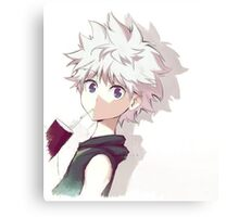 Hunter x Hunter-Killua Zoldyck Canvas Print