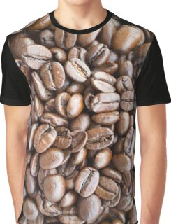 Coffee beans background Graphic T-Shirt