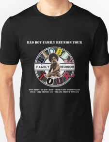 Bad Boy Family Reunion Tour 2016 Unisex T-Shirt