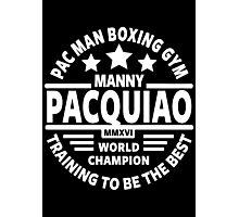 Manny Pacquiao Boxing Gym Photographic Print