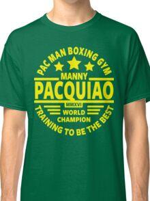 Manny Pacquiao Boxing Gym Classic T-Shirt
