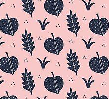 Botanical Pattern by KarinBijlsma