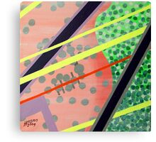 1980s' Hangover Canvas Print
