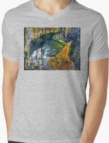 Dragon Fury Mens V-Neck T-Shirt