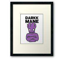Darkk Mane / Arms Crossed [COLOR] Framed Print