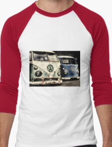 On the Buses Men's Baseball ¾ T-Shirt