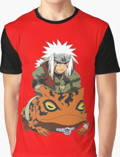 jiraiya Graphic T-Shirt
