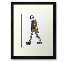 Walking aboot.  Framed Print