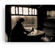 Stranger on a Train Canvas Print