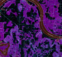 USGS TOPO Map Alabama AL Triana 305236 1964 24000 Inverted Sticker