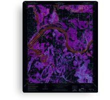 USGS TOPO Map Alabama AL Triana 305236 1964 24000 Inverted Canvas Print
