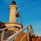 1032 Point Lonsdale Lighthouse by DavidsArt