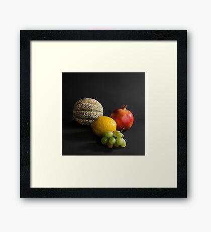 Fruit Still Life I Framed Print
