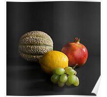 Fruit Still Life I Poster