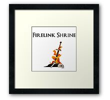 Firelink Shrine Framed Print