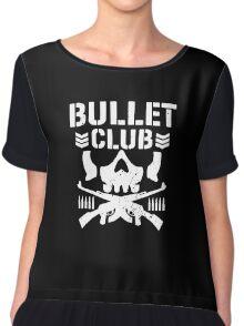 Bullet Club New Japan Pro Wrestling Chiffon Top