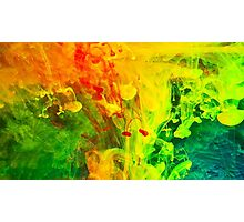 Paint Splash Photographic Print
