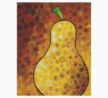 Golden Pear - Yellow Pear Art Print Kids Tee