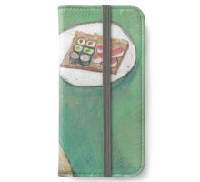 Thinking about lunch iPhone Wallet/Case/Skin