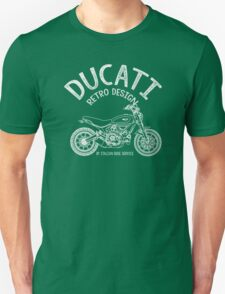 Ducati Retro Design Unisex T-Shirt