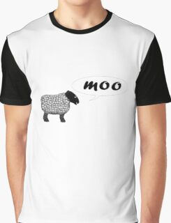 Moo Graphic T-Shirt