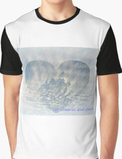 clouds and ships fantasy Graphic T-Shirt