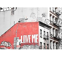 New York Street Art Photographic Print