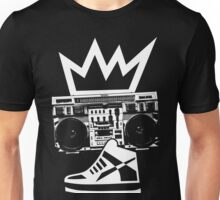 Boombox Kicks King Unisex T-Shirt