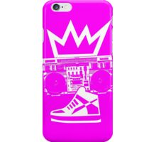 Boombox Kicks King iPhone Case/Skin