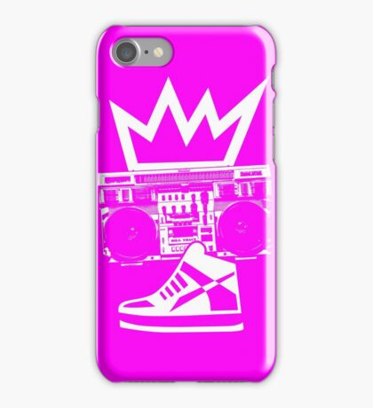 Boombox Kicks King iPhone Case/Skin
