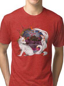 Into the Fox hole Tri-blend T-Shirt