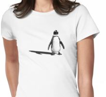 Penguin 2 (ladies T) Womens Fitted T-Shirt