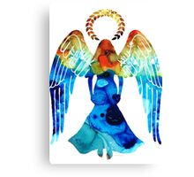Guardian Angel - Spiritual Art Paitning Canvas Print
