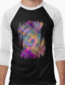geometrika Men's Baseball ¾ T-Shirt