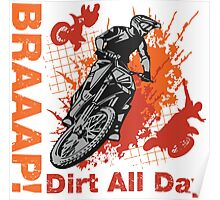 Braap T-shirts, Stickers, Mugs, Beddings, etc. Poster