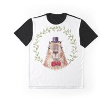 Sir Capybara Graphic T-Shirt
