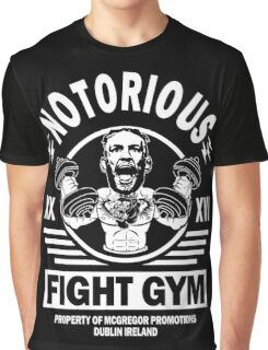 Conor Mcgregor Fight Gym Graphic T-Shirt