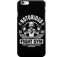 Conor Mcgregor Fight Gym iPhone Case/Skin