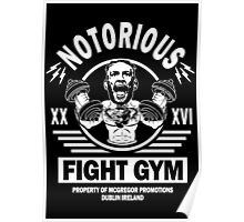 Notorious Conor Mcgregor Fight Gym Poster