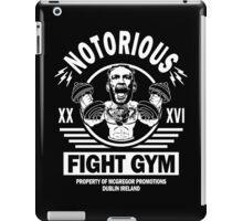 Notorious Conor Mcgregor Fight Gym iPad Case/Skin