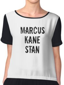 Marcus Kane Stan Chiffon Top