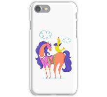 Circus Horse and Sealion, cute character illustration iPhone Case/Skin