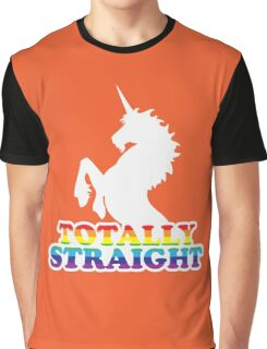 Totally Straight Graphic T-Shirt