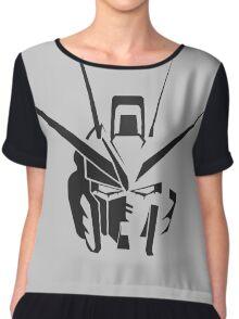 Mobilesuit gundam anime Chiffon Top