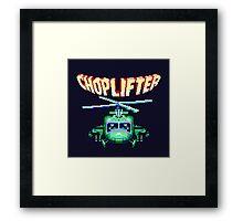 CHOPLIFTER SEGA ARCADE Framed Print