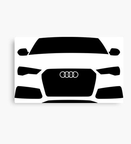 Audi RS6 Quattro C7 Canvas Print