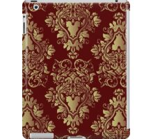 Purr-de-lis Red iPad Case/Skin