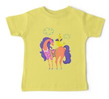 Circus Horse and Sealion, cute character illustration Baby Tee