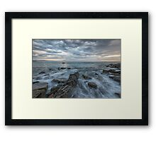 Barriaka coast Framed Print